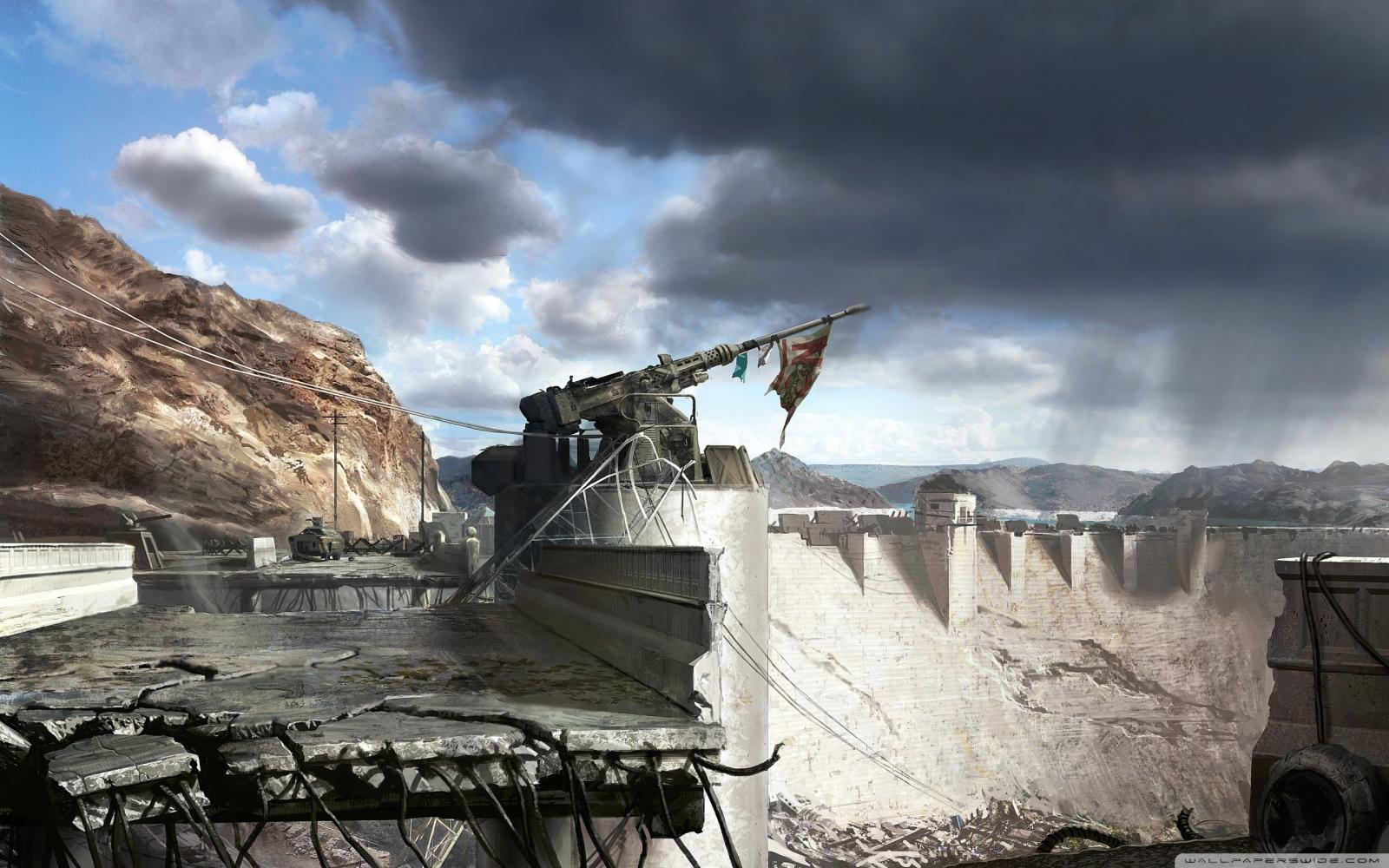 Fallout New Vegas - Hoover Dam - 2560x1600