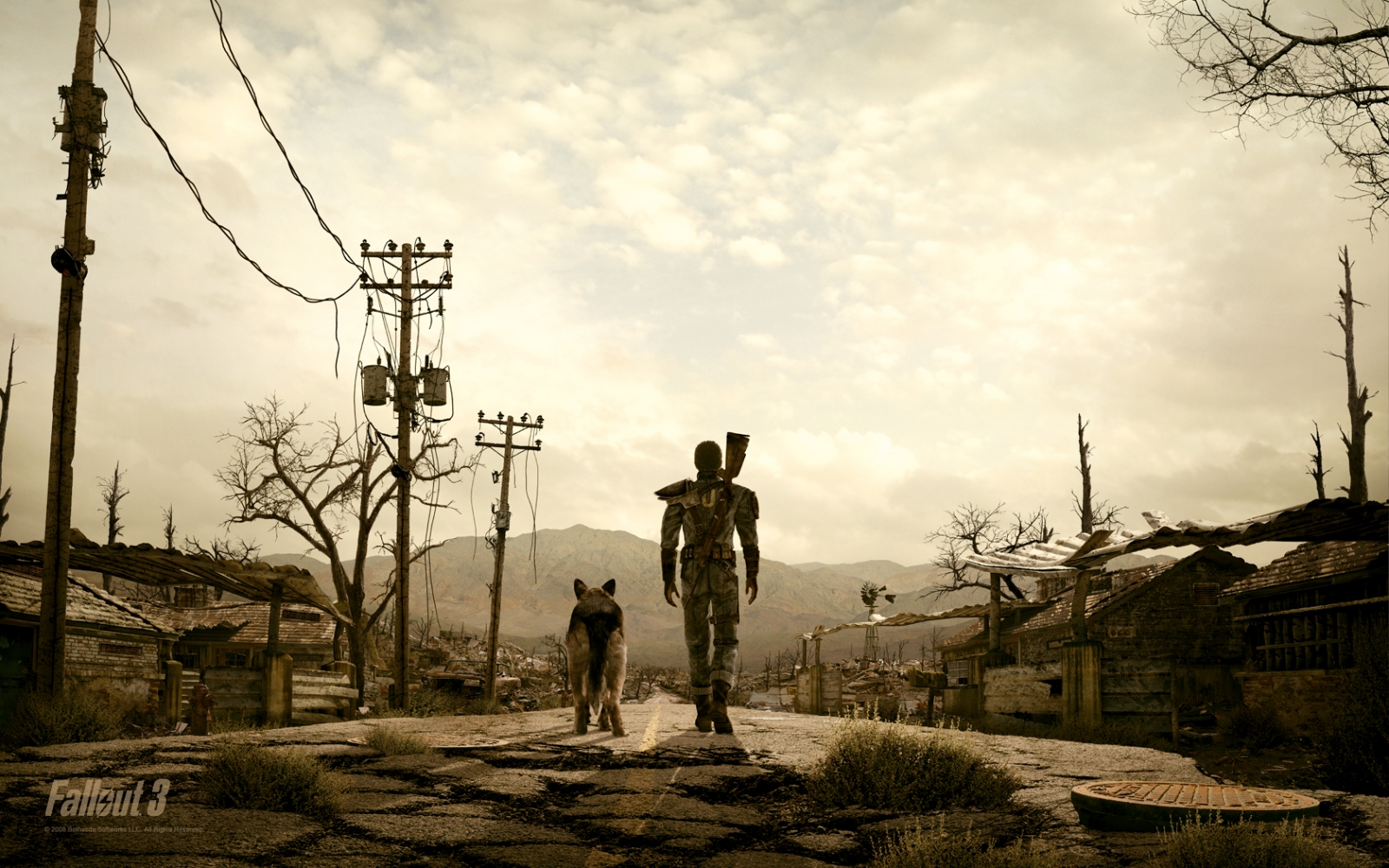 Fallout 3 - The Road - 1920X1080p