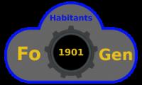 Habitants de l'Abri 1901